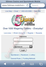 5Dimes Sportsbook Review - Betting Lines + Odds, Wager Types