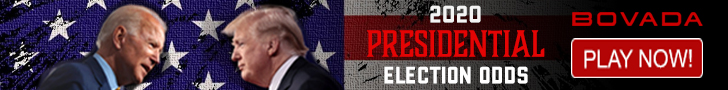 Presidential Election Odds at Bovada